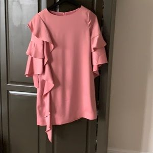 Pale pink Ted Baker long sleeve Dress